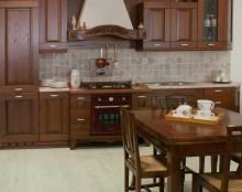 Cucina Classica in Castagno